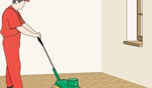 KROK VII -  Matowienie i ostatnie lakierowanie podłogi